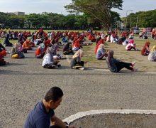 Senam Bersama PPNI Di Blang Padang