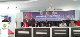PPNI Kota Banda Aceh Menggelar Seminar Aspek Legal Dalam Pelayanan Keperawatan Kedaruratan Dan Bencana